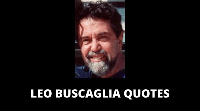 Leo Buscaglia Quotes featured