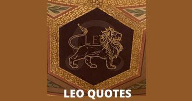 Leo Quotes Featured