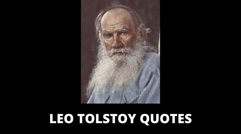 Leo Tolstoy Quotes featured