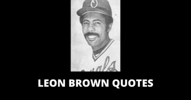 Leon Brown Quotes featured