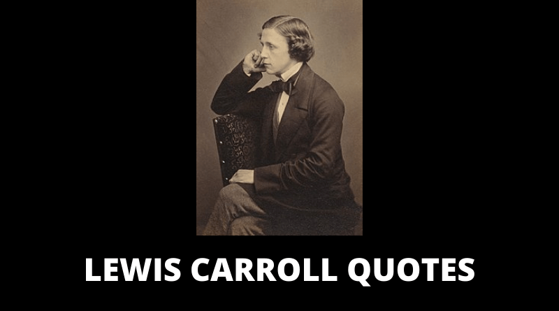 Lewis Carroll quotes featured