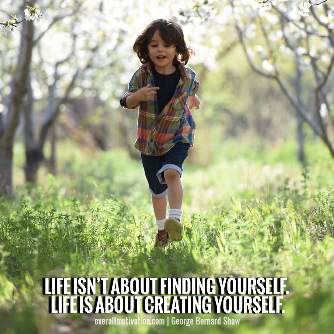 Life isnt about finding yourself_wisest quotes