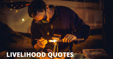 Livelihood Quotes Featured