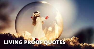 Living Proof Quotes Featured
