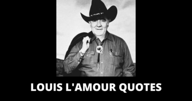 Louis L'Amour quotes featured