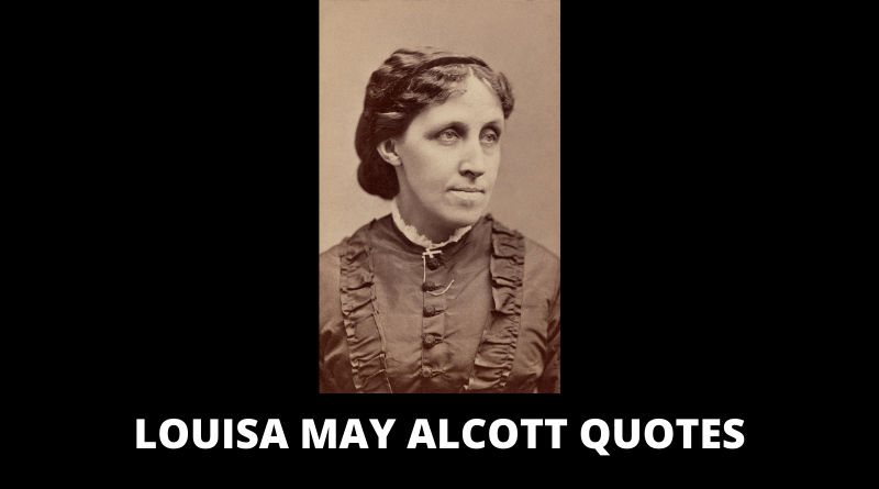 Louisa May Alcott Quotes featured