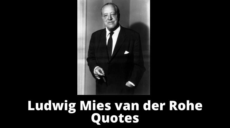 Ludwig Mies van der Rohe featured