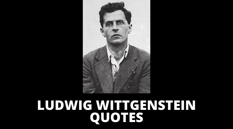 Ludwig Wittgenstein quotes featured