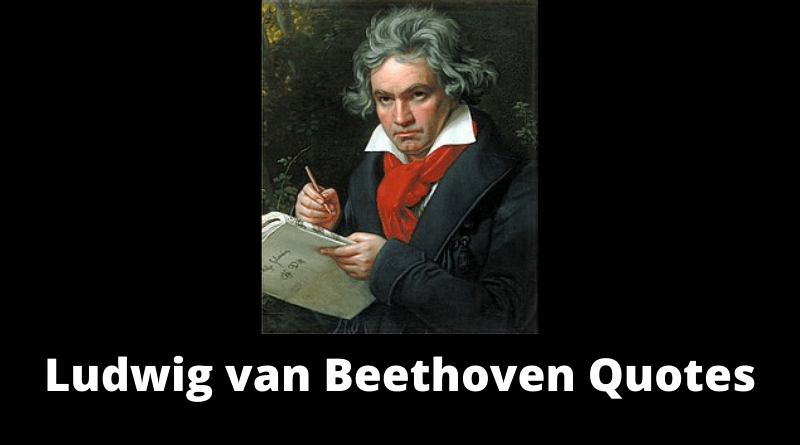 Ludwig van Beethoven Quotes featured