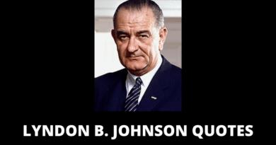 Lyndon B Johnson quotes featured