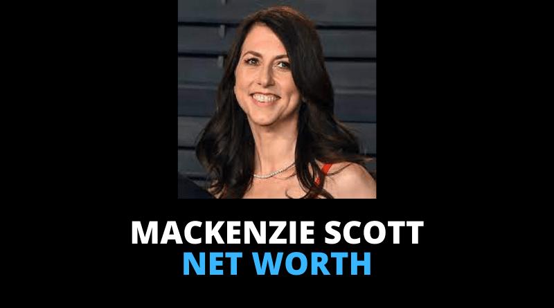 MacKenzie Scott net worth featured
