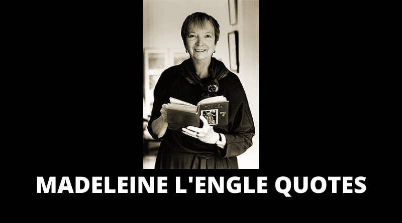 Madeleine L'Engle quotes featured