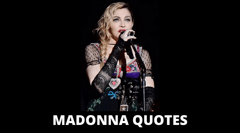 Madonna Quotes featured