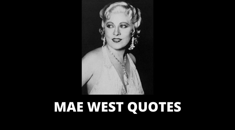 Mae West quotes featured