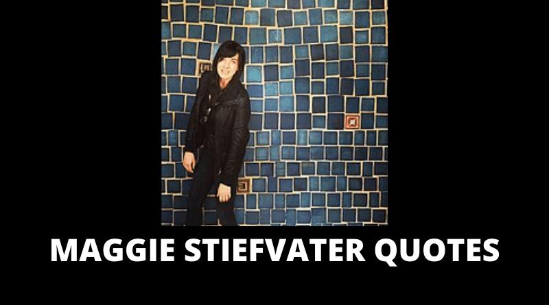 Maggie Stiefvater quotes featured