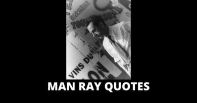 Man Ray quotes featured