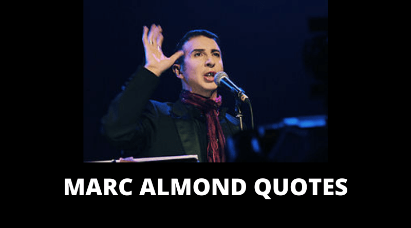 Marc Almond quotes featured