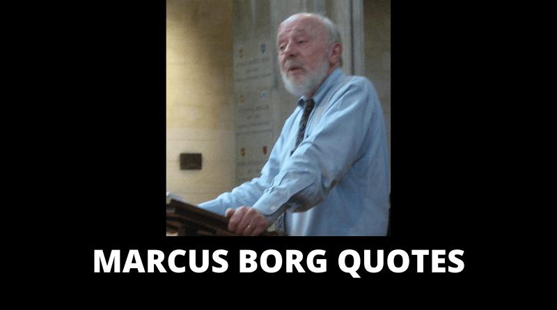 Marcus Borg Quotes featured