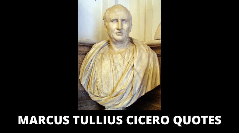 Marcus Tullius Cicero quotes featured