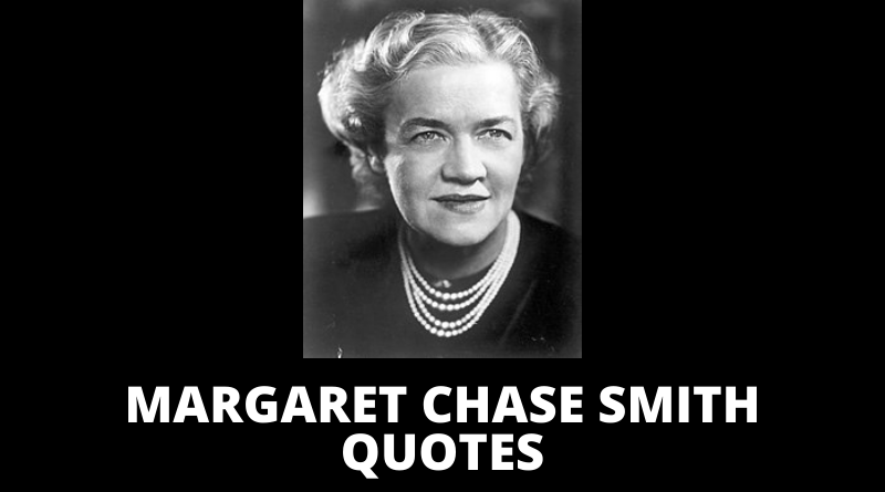 Margaret Chase Smith quotes featured