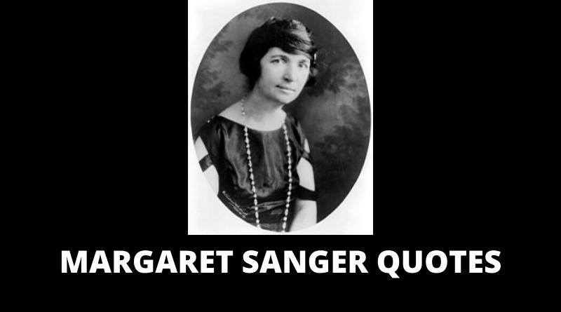 Margaret Sanger quotes featured