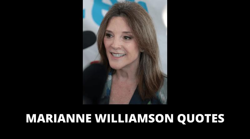 Marianne Williamson Quotes featured