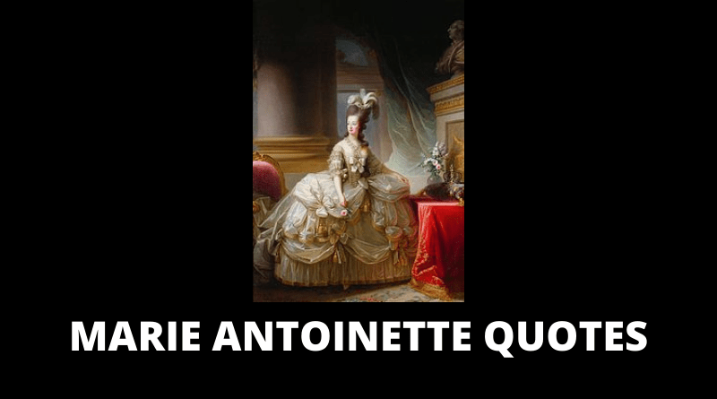Marie Antoinette quotes featured