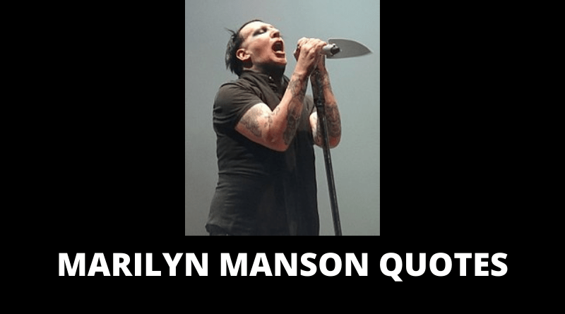 Marilyn Manson Quotes featured