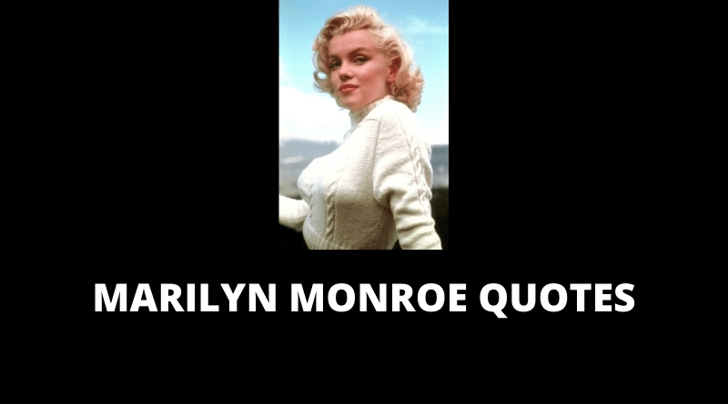 Marilyn Monroe Quotes featured