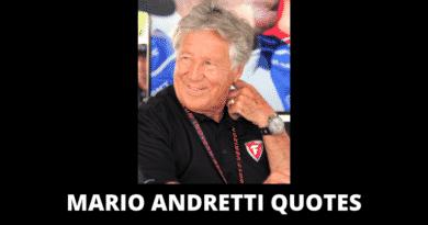 Inspirational Mario Andretti Quotes