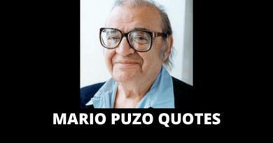 Mario Puzo quotes featured
