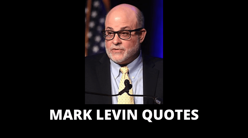 Mark Levin quotes featured