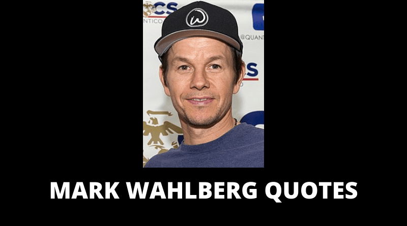 Mark Wahlberg quotes featured