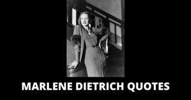Marlene Dietrich quotes featured