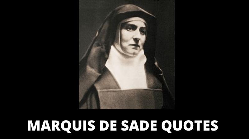 Marquis de Sade quotes featured