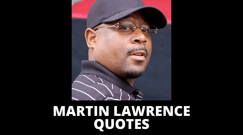 Martin Lawrence quotes featured