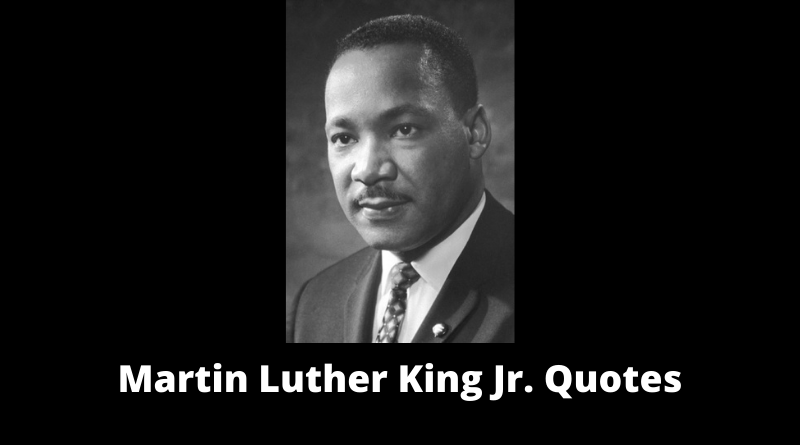 Martin Luther King Jr Quotes featured