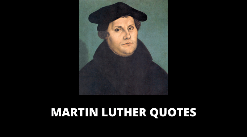 Martin Luther Quotes feature