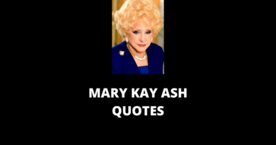 Mary Kay Ash Quotes featured