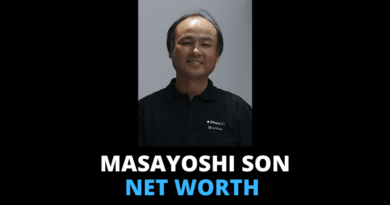 Masayoshi Son net worth featured