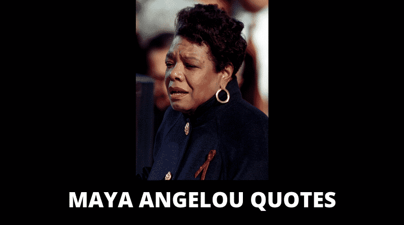 Motivational Maya Angelou Quotes
