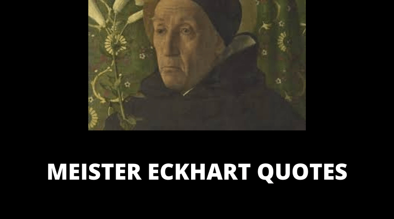 Meister Eckhart quotes featured