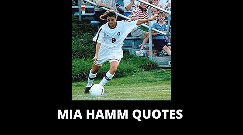 Mia Hamm quotes featured