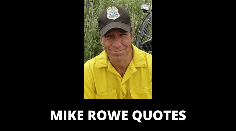Mike Rowe quotes featured