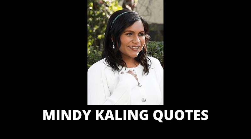 Mindy Kaling quotes featured