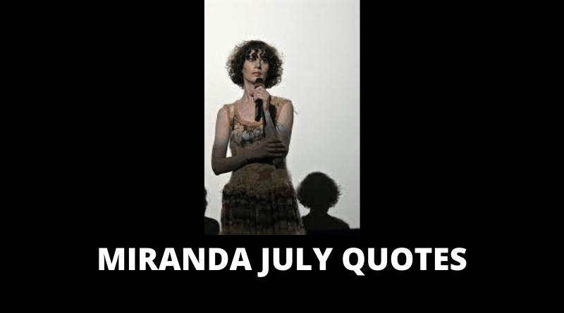 Miranda July quotes featured