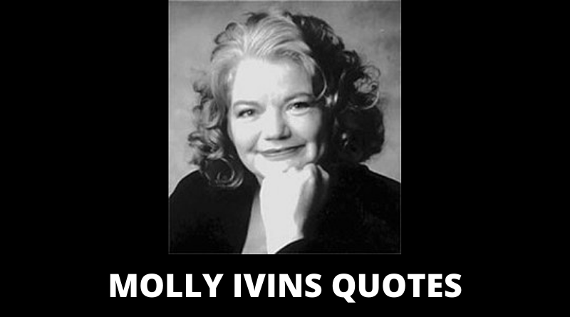 Molly Ivins quotes featured