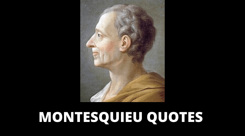 Montesquieu quotes featured
