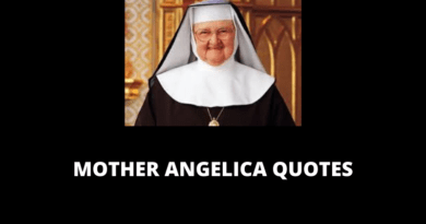 Mother Angelica Quotes featured
