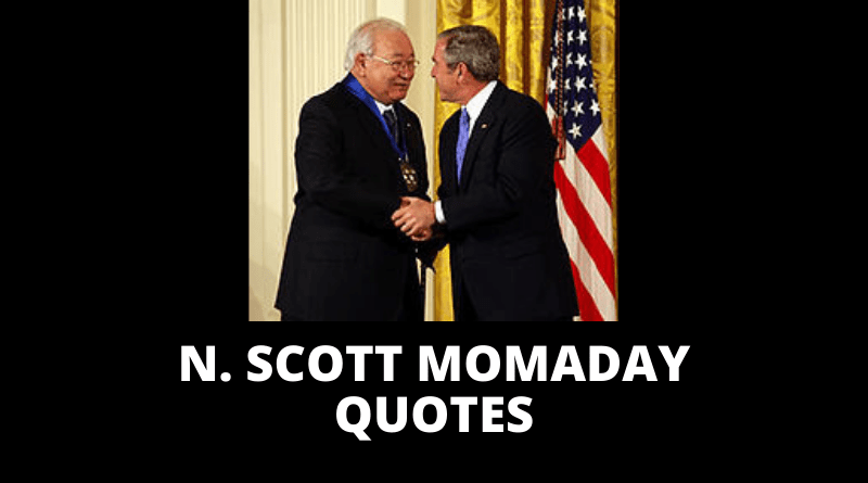 N Scott Momaday quotes featured